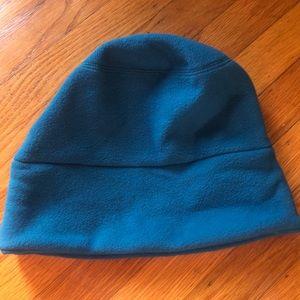 NWT fleece lands end blue hat